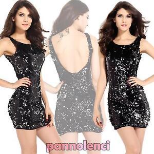 Party Minirobe Dress Sequined 1151 Dl Backless Dress New Elegant SXSqra