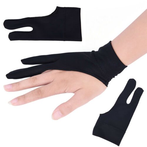 3x Professional Free Artist Drawing Glove for Graphic Tablet Right// Left Hand YH