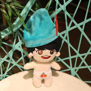 "Kpop Hot Sale BTS Kim Tae Hyung V Jung Kook 8"" Plush Toy Stuffed Doll Fan Goods"