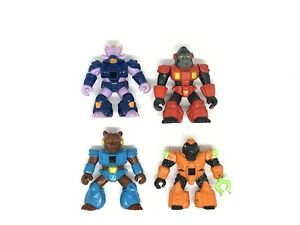 Vintage-Battle-Beasts-Action-Figures-LOT-1986-1987-Hasbro-Takara
