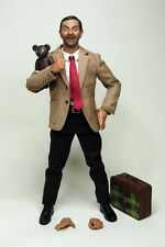 "1/6 Scale Mr Bean Clothing Suits Head Set For 12"" Male Action Figure Body"