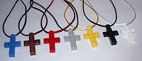 5 Lego Cross Necklace Religious Party Favor Sunday Bible Church School Gift Bag