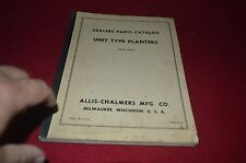 Allis Chalmers Unit Type Planter Dealer's Parts Book DCPA6 ver2
