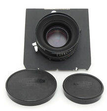 Schneider APO-Symmar 150mm F5.6 MC Lens. Board For 4x5 Camera