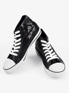 Hip/Hop Hi-Top Sequin Sneaker CHUXHIC