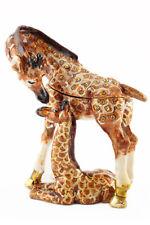 Giraffe Baby Jewelry Trinket Box Decorative Collectible Animal Cute Gift 02084