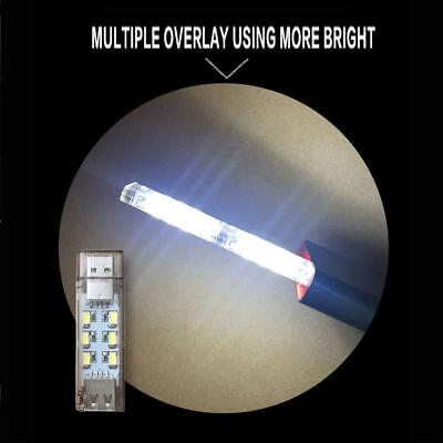 Mini Mobile Power USB LED Light Camping Computer Portable Night Lighting Gadget