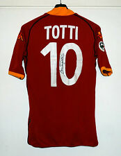 AS ROMA 2002/03 Match Worn/Issued Shirt TOTTI #10 Kappa maglia Mazda autografata