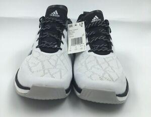 Adidas-Speed-Trainer-4-CG5134-Turf-Baseball-Shoes-White-Black-Men-s-Size-9-5