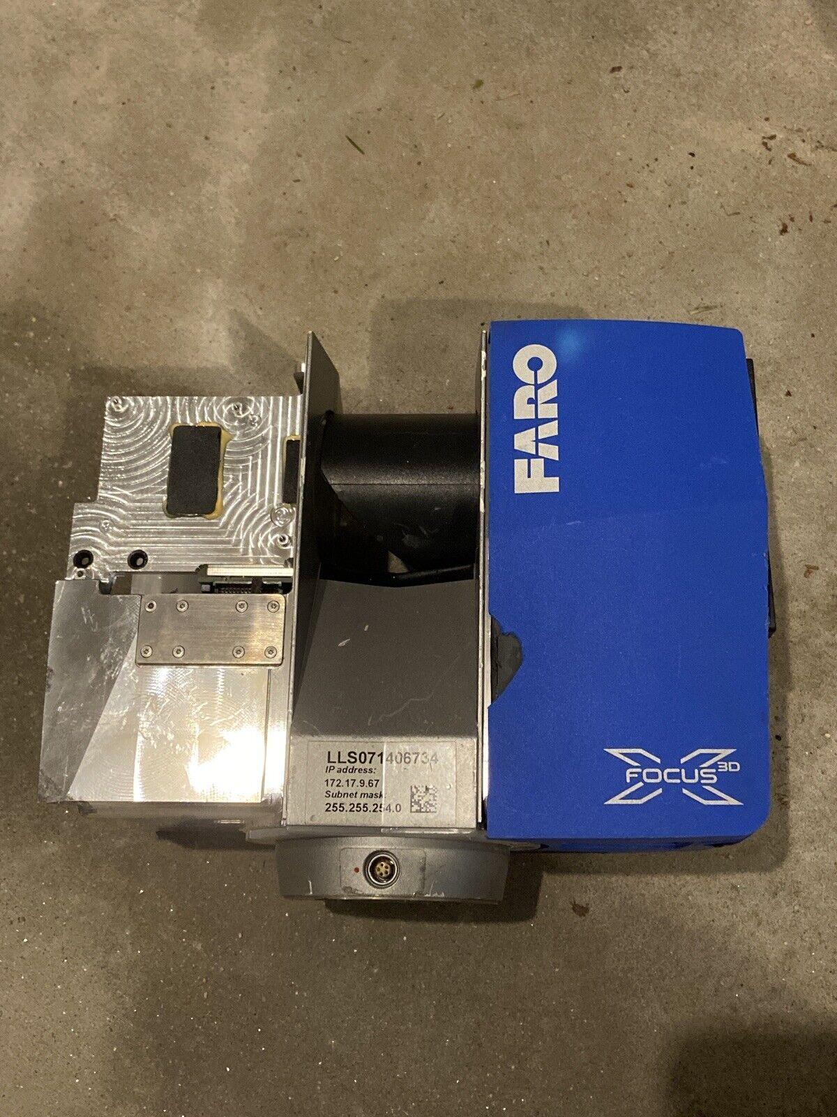2014 Model Faro Focus3D X330 3D Laser Scanner Focus X 330 PARTS OR REPAIR!