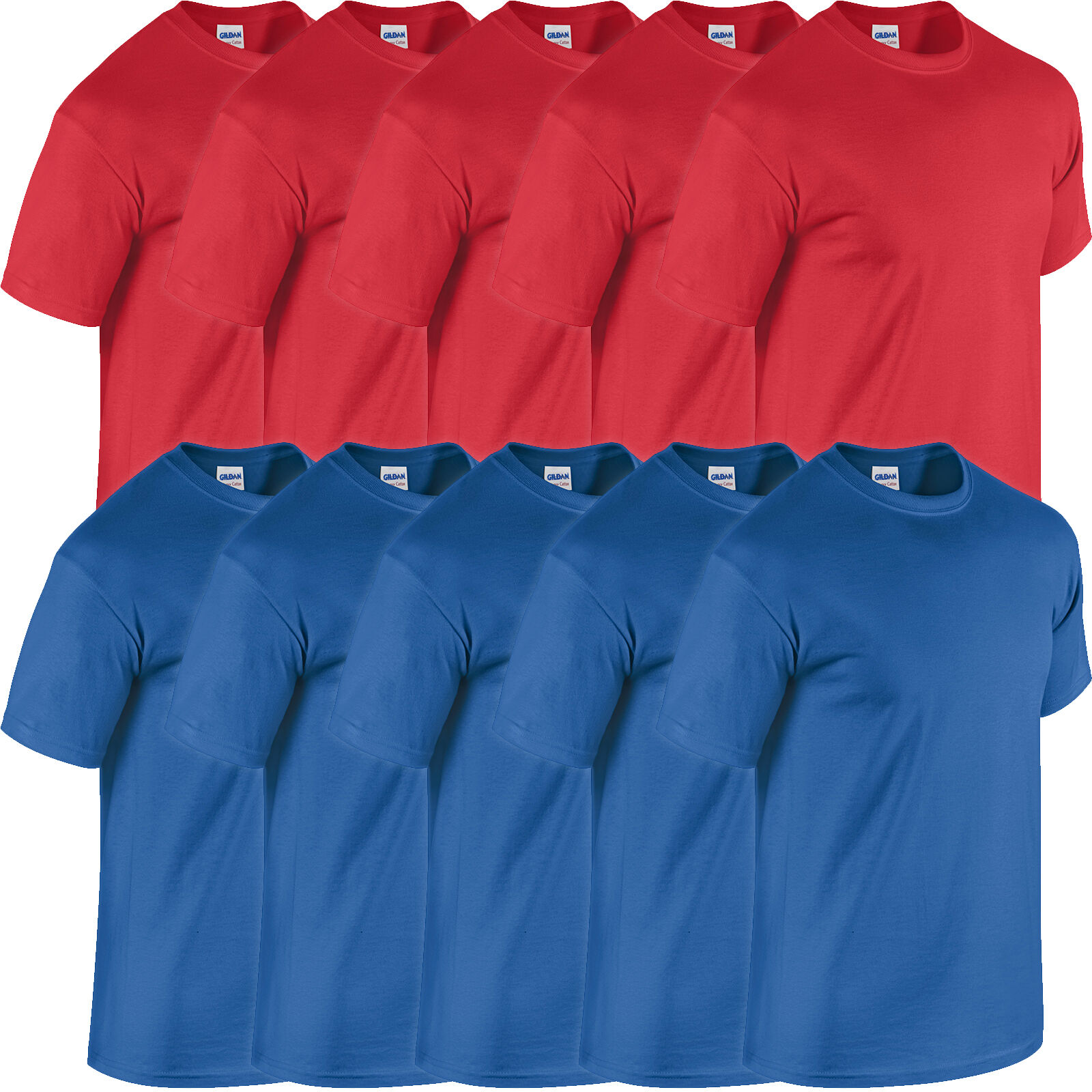 5 x Royal Blue and Red