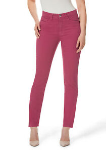 Stooker-Nizza-Damen-Stretch-Jeans-Hose-PINK-SORBET-Tapered-FIT-ehem-DUBAI