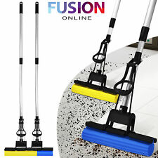 SUPER ABSORBENT CLEANING SPONGE MOP LAMINATE HARD FLOOR TELESCOPIC SPONGE HANDLE