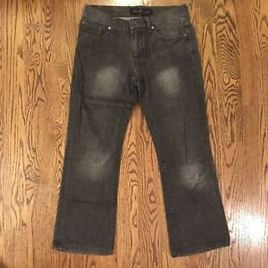 Details about Seven7 Jeans Men's SM71 Boot Bootcut Denim Gray Black 30 x 27 VGUC