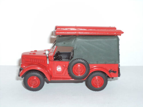 Feuerwehrfahrzeug 1:43 # 06 Sammlung Russisches Modellauto von DeAgostini