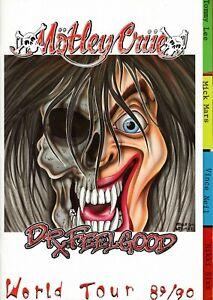 MOTLEY-CRUE-1989-DR-FEELGOOD-WORLD-TOUR-CONCERT-PROGRAM-BOOK-BOOKLET-NMT-TO-MNT
