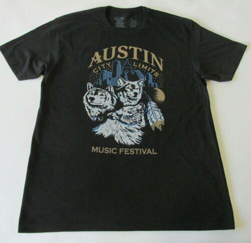 Austin City Limits Festival 2016 Wolves T-Shirt Radiohead Kendrick Lamar New LG