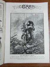 genre L ILLUSTRATION : WWI WAR GUERRE 14/18 : revue THE GRAPHIC 1916 Nr 2438