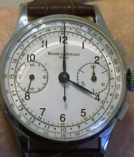 Vintage BAUME et MERCIER Chronograph -  Landeron Cal. 48 interduced in the '50s