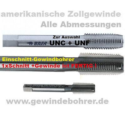 Gewindebohrer UNC UNF Handgewindebohrer Gewindeschneider zur Auswahl