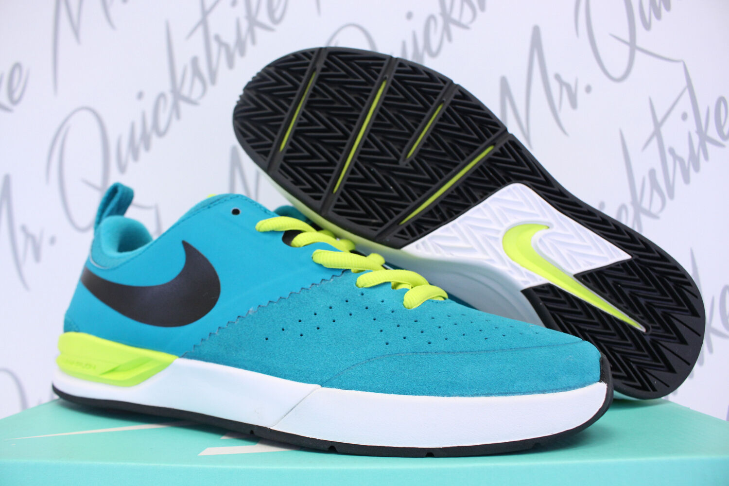 NIKE PROJECT BA SB SZ 8 BRIAN ANDERSON TURBO GREEN WHITE RUST FACTOR 599698 316