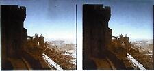 Photographie château citadelle fortification au pays basque ou Bordeaux ? c1920