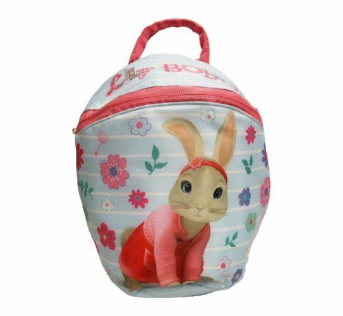 Peter Rabbit Girls Toddler Backpack With Reins School Bag Rucksack Brand New