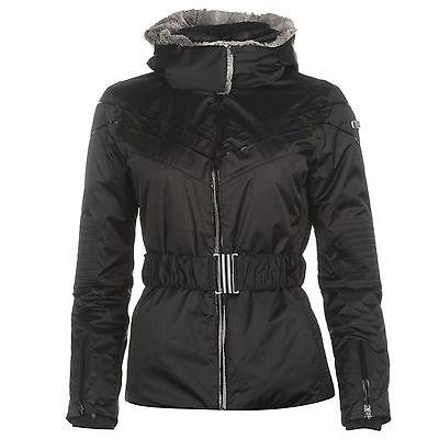 COLMAR Women/'s 5EOU Ski Jacket Coat Black Size 14 Large