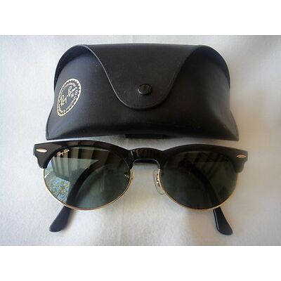 VINTAGE RAY BAN CLUBMASTER G15 US B&L 80'S SUNGLASSES