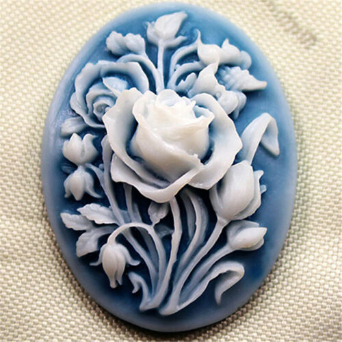 Rose Flower Silicone Baking Forms Fondant 1Pc 3D Cake Chocolate Sugar Craft Mold
