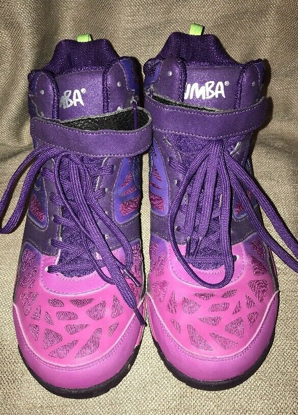 Zumba Energy Weightless Rush High Top Schuhes Trainers TopLine Nearly Weightless Energy sz 9 US 5a6080