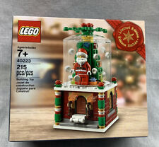 New Lego Limited Holiday Edition Snowglobe 40223 Ready to ship Retired