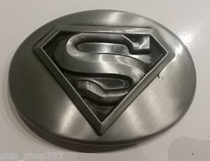 MAN-OF-STEEL-SUPERMAN-DC-COMICS-Belt-Buckle-Antique-silver-color-metal-MOVIE