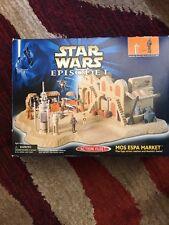 Star Wars MOS ESPA MARKET Playset, Episode 1, Micro Machines with Box