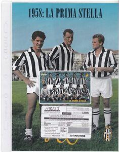 Lotto-di-10-FOLDER-Juventus-Story-con-Schede-Telefoniche-nuove