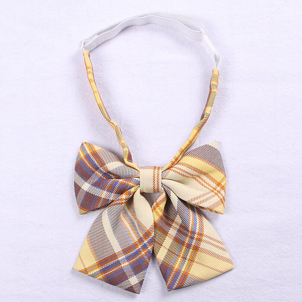 2x Women JK Bow Tie Neck Tie Japanese Cute School Uniform Lolita Preppy Cosplay