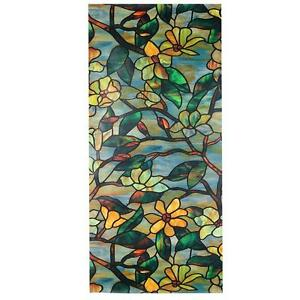 Stained glass look window film