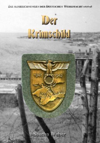 Der Krimschild Modelle Varianten Auszeichnung Orden Katalog Sascha Weber Buch