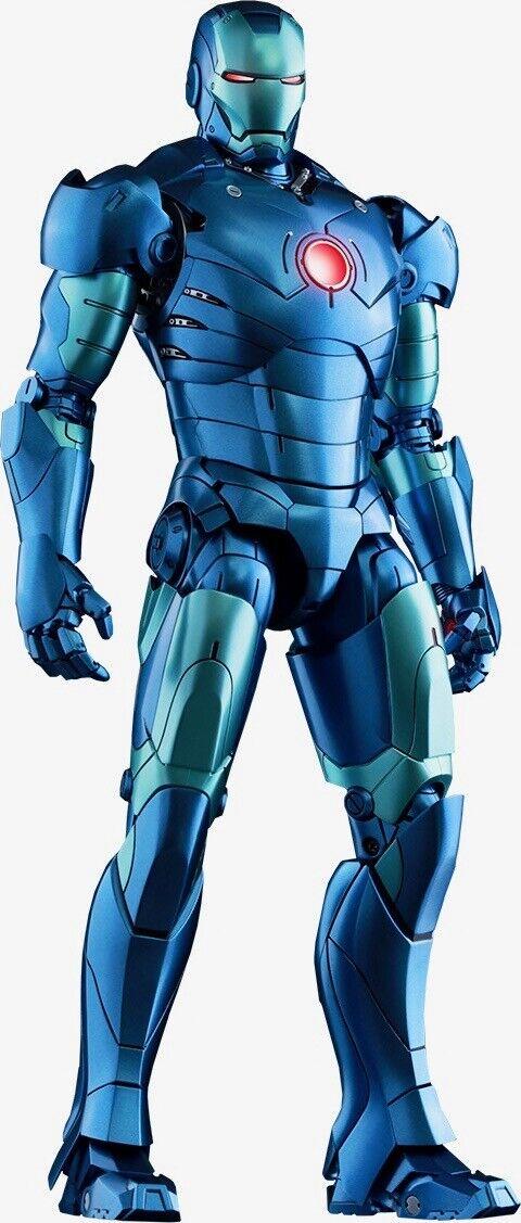 Hot Juguetes Iron Man Mark Iii Stealth Mode Sideshow ex. MMS314-D12. Sellado De Fábrica