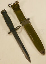 USGI US Military Vietnam Bayonet Genuine Combat Knife w/ Scabbard m7bayonet #129