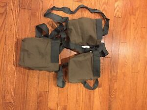 Details about USGI surplus bandoleer M60  308 100 round pouch, NEW! 3 pack