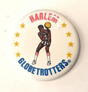 """HARLEM GLOBETROTTERS"" Vintage 2.5"" Pin Pinback * Combine Shipping!"