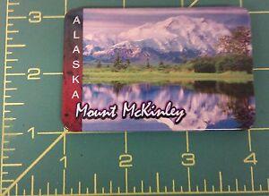 Alaska-Novelty-Magnet-Mt-Mckinley-Tinplate-Magnet-We-ship-Worldwide