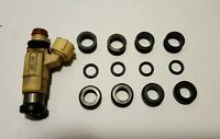 Fuel Injector Rebuild / O-ring Kit For Mitsubishi Eclipse / Evos / Dsm 4 Cyl