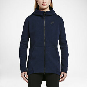 nike wmns nsw tech fleece knit full zip cape new women. Black Bedroom Furniture Sets. Home Design Ideas