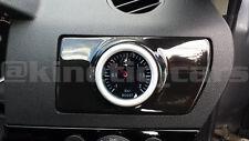 Vauxhall Astra H Air Vent Gauge Pod adapter Gloss black ABS plastic inc VXR