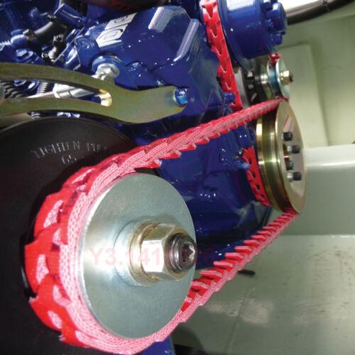 "Power Twist Drive /""A/"" adjustable Link V-Belt 1Foot//12/'/' F CNC Motor 13//4L,1//2/"""