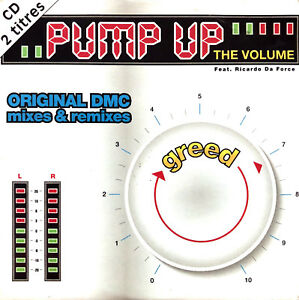 Greed-Featuring-Ricardo-Da-Force-CD-Single-Pump-Up-The-Volume-France-VG-VG