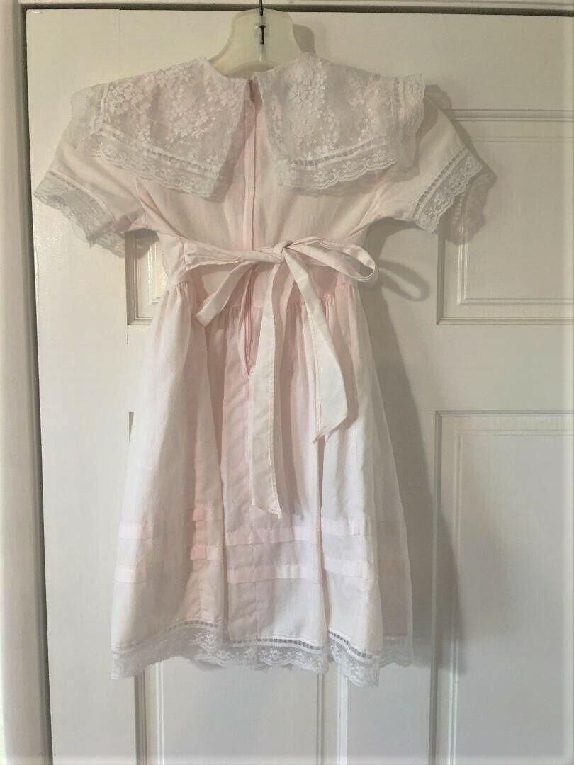 Vintage Girls Toddler Size 5 Gunne Sax Dress Prai… - image 11