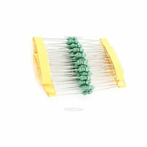 50Pcs 0410 Color Ring Inductance 2.2MH 222K 1//2W Axial Rf Choke Coil Inductor pu